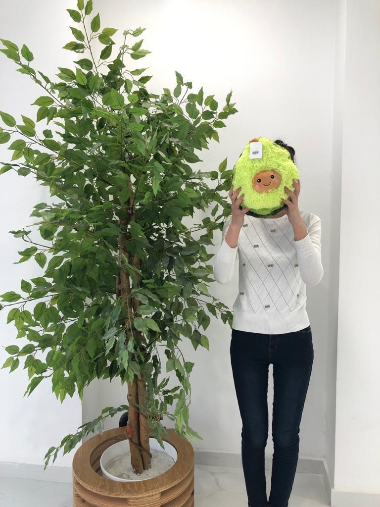 Мягкая игрушка авокадо 30 см