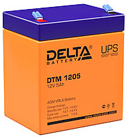 Аккумулятор Delta DTM 1205 (12В, 5Ач), фото 1