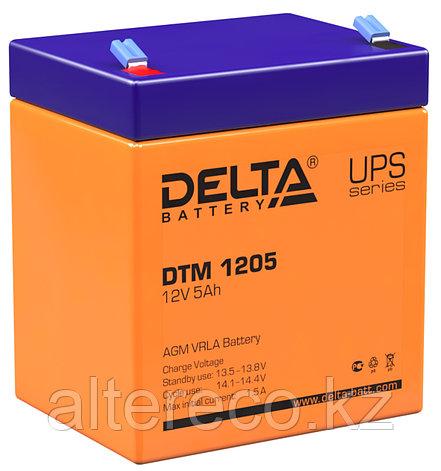 Аккумулятор Delta DTM 1205 (12В, 5Ач), фото 2