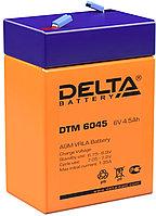 Аккумулятор Delta DTM 6045 (6В, 4,5Ач)