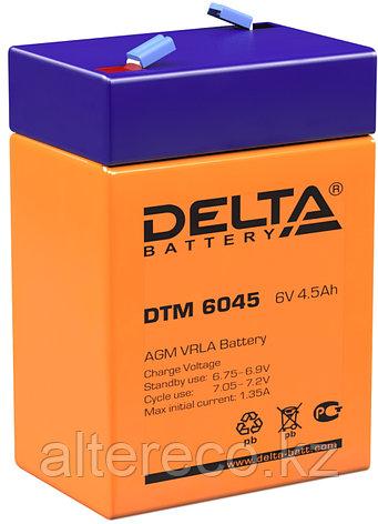Аккумулятор Delta DTM 6045 (6В, 4,5Ач), фото 2