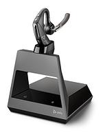 Беспроводная гарнитура Poly Plantronics Voyager 5200 Office, B5200, 2-way base, USB-C (214593-05), фото 1