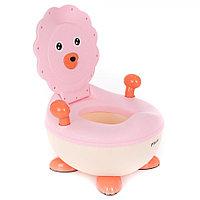 Детский горшок Pituso Львенок розовый FG337, фото 1