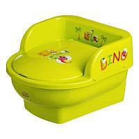 Детский горшок Maltex Трон Дино Зелёный, фото 1