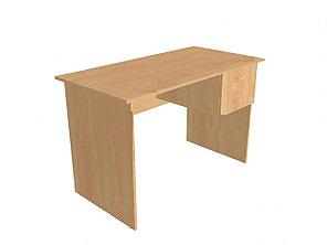 Стол преподавателя корпусной с подвесной тумбой. СТПЛ2(т)