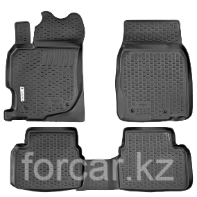 Коврики в салон Mazda 2 (08-) (полимерные) L.Locker