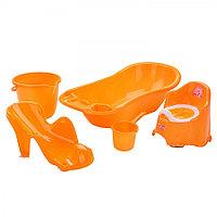Набор для детей Dunya 5 предметов оранжевый, фото 1