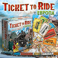 Ticket to ride. Билет на Поезд. Европа. Настольная игра. Хоббиворлд, фото 1