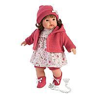 Кукла Llorens Айсель брюнетка в красной курточке и красной шапочке