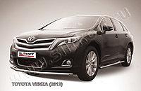 Защита переднего бампера d57 Toyota Venza (2013)