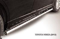 Защита порогов d57 труба Toyota Venza (2013)