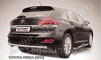 Защита заднего бампера d57 радиусная Toyota Venza (2013)