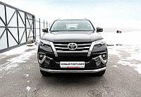 Защита переднего бампера d76 Toyota Fortuner (2017)