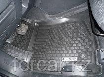 Коврики в салон Mazda 6 (07-) (полимерные) L.Locker