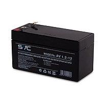 Батарея SVC AV1.2-12 Свинцово-кислотная 12В 1.2 Ач Размер в мм.: 97*43*52