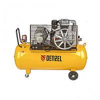 Компрессор DR4000/200, масляный ременный, 10 бар, производительность 690 л/м, мощность 4 кВт Denzel, фото 1