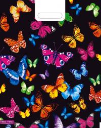 "Пакет (мешок) проруб. ПВД 40х30см, 60мкм, ""Бабочки"", 25 шт, фото 2"