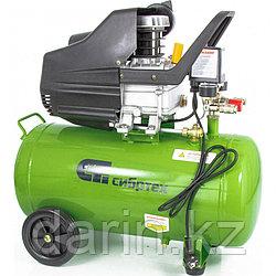 Компрессор воздушный КК-1500/50, 1.5 кВт, 198 л/мин, 50 л, прямой привод, масляный Сибртех
