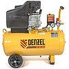 Компрессор воздушный PC 50-260, 1.8 кВт, 260 л/мин, 50 л, 10 бар Denzel
