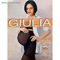 Колготки для беременных GIULIA MAMA 40 ден цвет чёрный (nero), размер 3