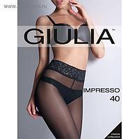 Колготки женские IMPRESSO 40 ден цвет чёрный (nero), размер 4