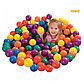 Набор из 100 разноцветных пластиковых шаров в мешке для переноски. 6,5 см INTEX, фото 2