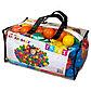 Набор из 100 разноцветных пластиковых шаров в мешке для переноски. 6,5 см INTEX, фото 3
