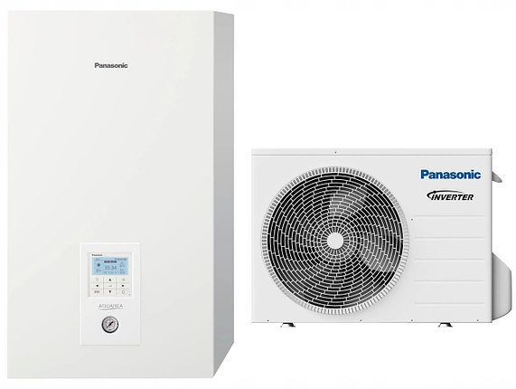 Тепловой насос PANASONIC AQUAREA Bi-bloc KIT-WXC12H9E8 (380 В), фото 2