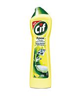 """Чистящий крем универсальный с микрогранулами CIF """"Лимон"""", 500 мл"""