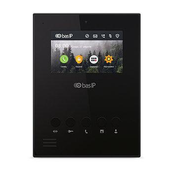 IP видеодомофон AU-04LA BLACK