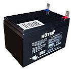 Аккумуляторная батарея АКБ 12В 12Ач Huter, фото 2