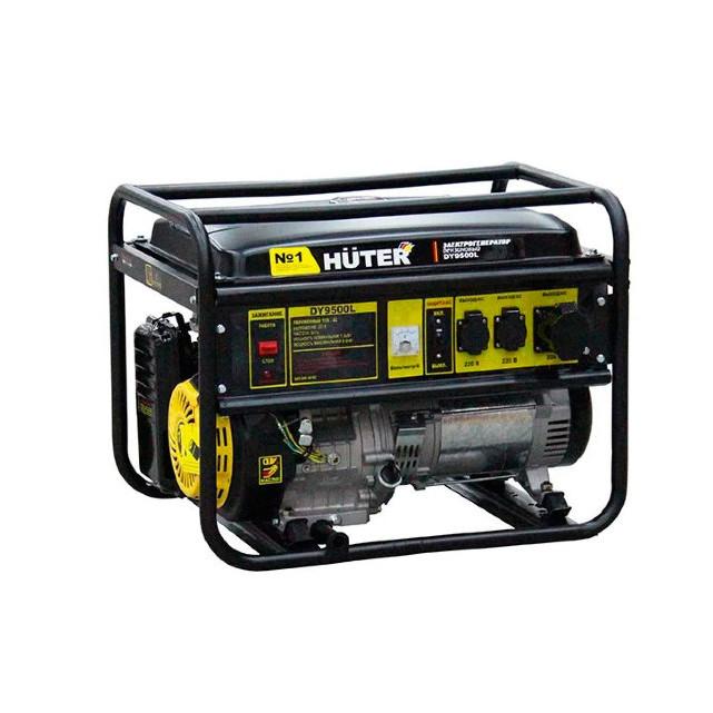 Портативный бензогенератор HUTER DY9500L