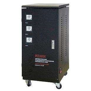 Стабилизатор напряжения РЕСАНТА АСН-20000/3-ЭМ 20 кВт Трехфазный электромеханический