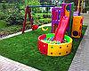 Искусственный газон 15 мм ландшафтная для детских площадок, фото 3