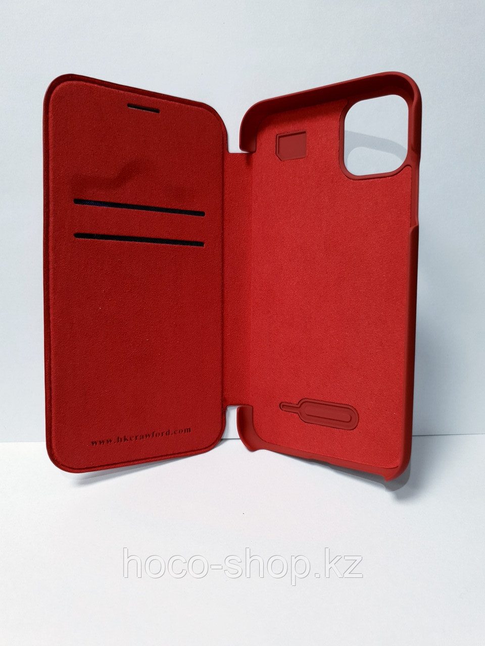 "Кожаный чехол-книжка ""XO"" iPhone 11 Pro Max - фото 2"