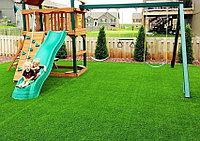 Искусственный газон 30мм ландшафтная для детских площадок