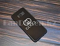 Чехол для смартфона Samsung A8 2018 с надписью Gucci