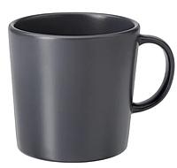 ДИНЕРА Кружка, темно-серый, фото 1