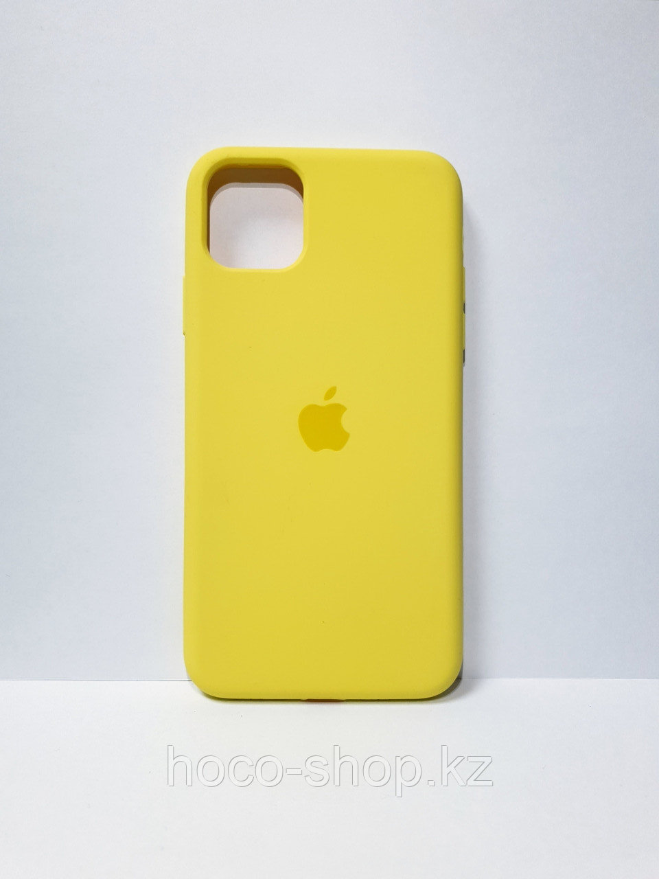 Защитный чехол для iPhone 11 Pro Soft Touch силиконовый, желтый