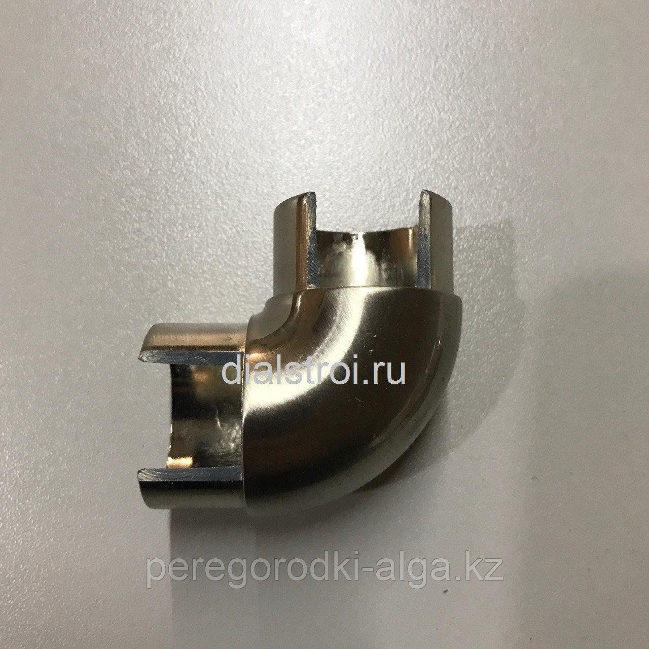 Угловой элемент для трубы (фурнитура для HPL пластика)