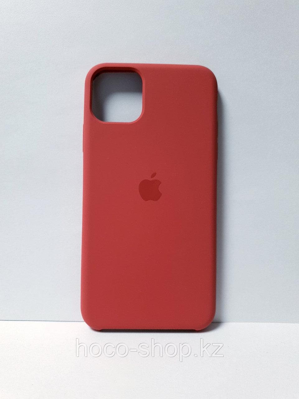 Защитный чехол для iPhone 11 Pro Soft Touch силиконовый, коралловый