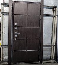 """Входная дверь """"Шоколадка"""" два МДФ"""