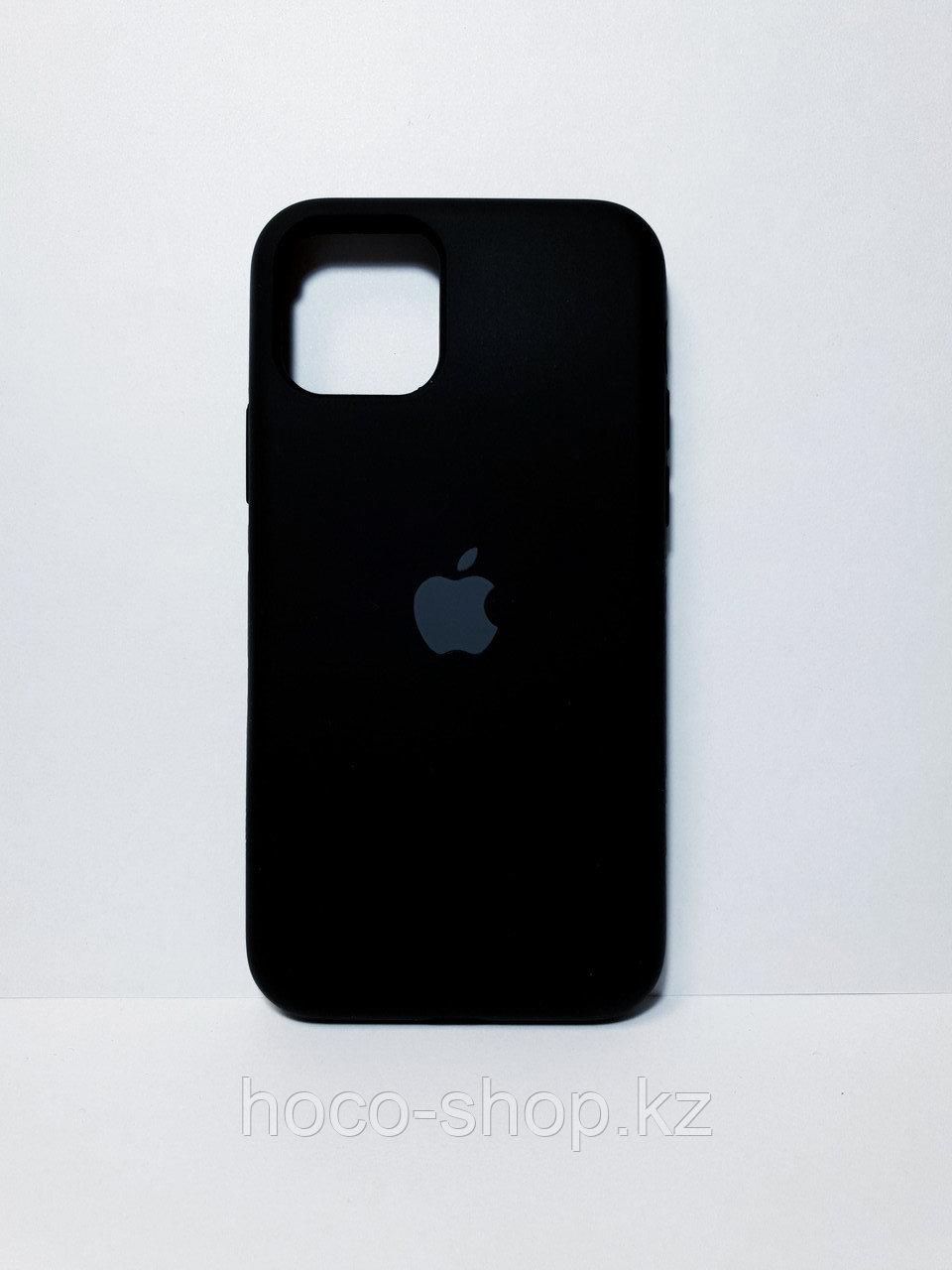 Защитный чехол для iPhone 11 Pro Soft Touch силиконовый, черный