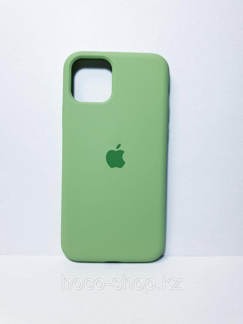 Защитный чехол для iPhone 11 Pro Soft Touch силиконовый, зеленый