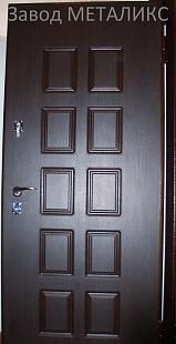 """Входная дверь """"Щит-Экстра"""" два МДФ"""