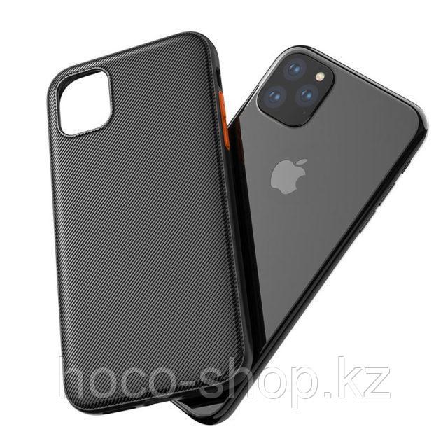 Чехол гель Hoco iPhone 11 Pro - фото 1