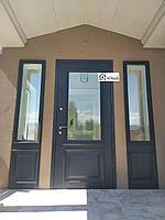 Дверь со стеклопакетом на заказ
