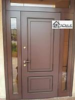 Дверь входная со стеклопакетом