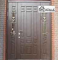 Дверь железная с ковкой на заказ