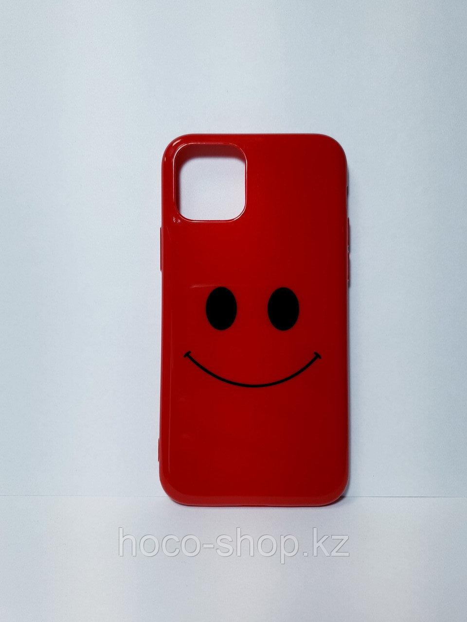 Чехол гелевый смайлик iPhone 11 Pro